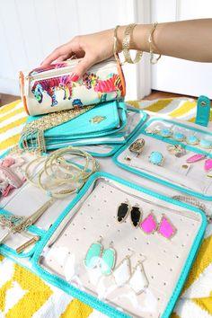 Kendra Scott jewelry travel cases on Haute off the Rack.