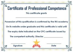 Certificate of Competency: 22 Templates in Word, Excel and PDF - Template Sumo Certificate Templates, Sumo, Pdf, Author, Words, Writers, Horse
