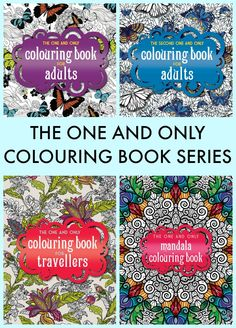 THE ONE AND ONLY COLOURING BOOK SERIES