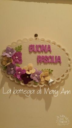 Buona Pasqua Art N Craft, Felt Flowers, Projects To Try, Arts And Crafts, Wall Decor, Elsa, Handmade, Album, Easter Crafts