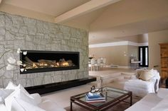Getting an electric fireplace is a great investment. You will have the comfort of a fireplace during the winter and the added benefit of using less energy..
