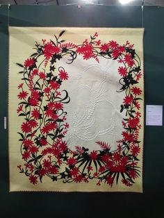There were many excellent quilts in the section 'New Works by 57 Japanese Quilt Artists' . If you follow Japanese quilting, some of th...