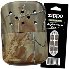 ZIPPO RealTree Camo Hand Warmer and Replacement Burner Set * This is an Amazon Affiliate link. Check this awesome product by going to the link at the image.