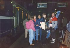 Wintersport Cato 1986. Uit het archief van Thijs Nobels.