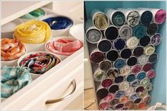 10 Clever Ways to Organize Your Scarves 3