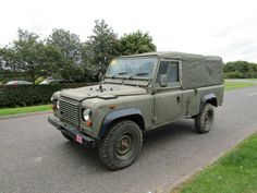 Land Rover Defender 110 ST.