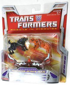 Mini-Con Teams Predator Attack Team (Transformers, Classics, Decepticon) | Transformerland.com - Collector's Guide Toy Info