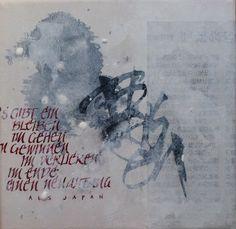 Bleiben - calligraphy
