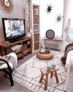 86 brilliant solution small apartment living room decor ideas and remodel « Home Decor Cozy Apartment Decor, Small Apartment Living, Small Apartment Decorating, Couples Apartment, Small Apartment Interior Design, Small Appartment, Small Living Rooms, Apartment Ideas, Small Living Room Designs
