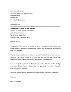 resignation announcement letter this resignation announcement letter to let co workers know that you job letterbusiness letter sampleresignation - How To Write A Letter Of Resignation Due To Retirement