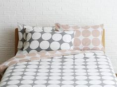 Buy Habitat Spot Bedding Set - Double at Argos.co.uk, visit Argos.co.uk to shop online for Duvet cover sets