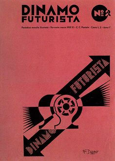 Fortunato Depero, Dinamo futurista, 1933 by laura@popdesign, via Flickr
