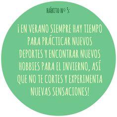 HÁBITO Nº5 Motivation, Live, Healthy, Health, Inspiration