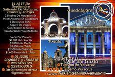 Aparta tu lugar para nuestra próxima #excursión a #Guadalajara #Tonalá y #Zapotlanejo próximamente más información por este medio   RESERVA AHORA Más información en: Tels: 01 (229) 202 65 57 y 150 83 16  WhatsApp: 2291476029 y 2291508316 Email / Hangouts: turismoenveracruz@gmail.com http://www.turismoenveracruz.mx
