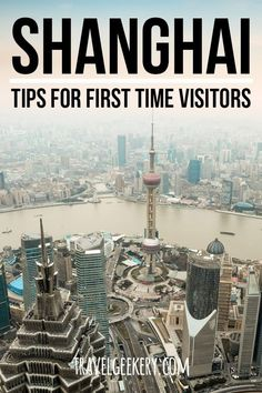 Collection of 25 Shanghai travel tips to make your first visit to Shanghai China a lot easier and your Shanghai travel a lot smoother. Prepare in advance and don't be shocked by the culture shock many travellers experience in Shanghai. Including practical info on getting around Shanghai and some tips from locals and expats. You'll make your first trip to Shanghai much more enjoyable if you click to read the post because it includes all you need to know before visiting Shanghai. #shanghai…