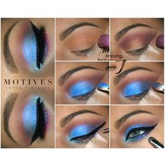 Here is the tutorial for the previous blue look by @theamazingworldofj using Motives _____________ -Eye Base -Mavens Dynasty Palette for transition and darken the outer v -Eye Illusion in Celestial on lid and center of lower lash line -Gel Eyeliner LBD  ____________________________________________ All #motives products are available for US/CAN at http://ift.tt/19oQHy4 or internationally at Global.Shop.com #motd #motivescosmetics #makeup #beauty #glam #mua