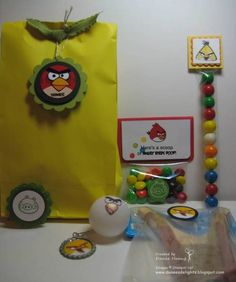 Angry Bird Favors