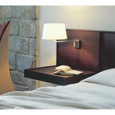 The Santa & Cole Americana Table Lamp was built around an articulated arm, although the arm is a single section with a right-angled bend. Santa Cole, A Table, Table Lamp, Basic Geometry, Bedside Lighting, Wall Brackets, Lamp Design, Lighting Design, Floating Nightstand