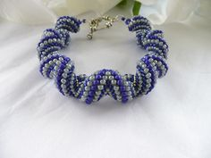Alternating Cellini Spiral Bracelet - Deborah St.Cin: http://www.outbid.com/auctions/21543-saturday-smorgasbord-at-deb-s-place#44