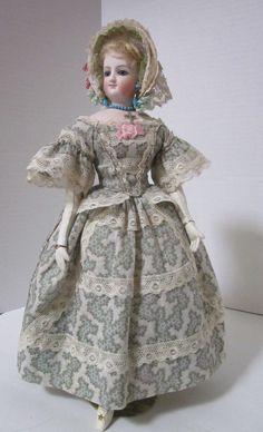 "Fashionable 14"" Bru Smiler with Extensive Wardrobe | eBay"