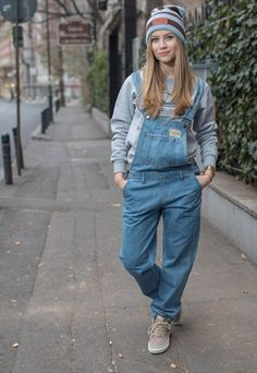 Buy & sell new, pre-owned & vintage fashion Overalls Fashion, Denim Overalls, Dungarees, Jeans, Tomboy Outfits, Tomboy Fashion, Cute Outfits, Curvy Women Fashion, Womens Fashion