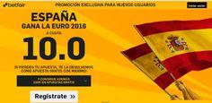 el forero jrvm y todos los bonos de deportes: betfair supercuota 10 España campeón EURO2016 10 j...