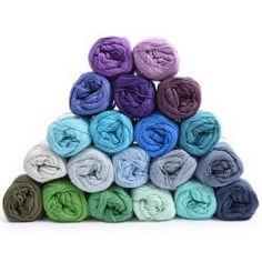 Yarn Pack - Rainbow - Deep ocean - 20 colours from Hobbii Baby Afghan Crochet Patterns, Fair Isle Knitting Patterns, Baby Blanket Crochet, Yarn Colors, Colours, Crochet Unicorn Hat, Crochet Prayer Shawls, Yarn For Sale, Yarn Brands