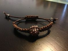 Coffee colored shambala for my mom