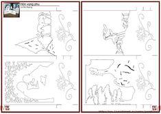 Kirigami Patterns, Card Patterns, 3d Cards, Pop Up Cards, Pop Up Christmas Cards, Paper Cutting Patterns, Paper Pop, Winter Art Projects, Karten Diy