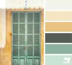 { a door hues } image via: @maria_minimal #color #palette #colorpalette #pallet #colour #colourpalette #design #seeds #designseeds