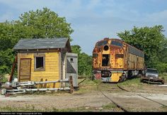 RailPictures.Net Photo: CMStP&P 38A Milwaukee Road EMD E9(A) at Green Bay, Wisconsin by Jeff Terry