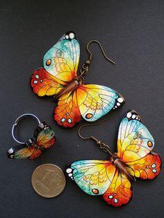 Handmade Jewelry - gorgeous butterflies!