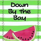 "Sing the song! Read the book! Make a ""Down By the Bay"" class book. Students make up a rhyme that wasn't used in the song to write their own verse for Down By the Bay. I suggest listing several animals and rhyming words on the board for students to choose from. My class reads (sings) this class book all year! The last day of summer is Sept. 21, 2012. On this day my class eats watermelon (makes super cute pictures), and writes about it, and makes this class book."