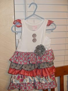 So cute to make from just a tank top!