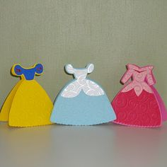 Wouldn't these be cute thank you cards for a little girls birthday party?