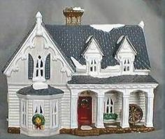 Gothic Farmhouse  Snow Village