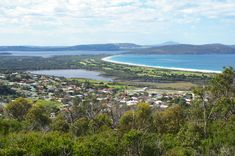 Lake Seppings from Mount Clarence in Albany, Western Australia.