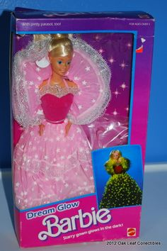 Dream Glow Barbie 1980s dolls toys