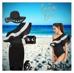 """SheIn"" by colicarnel ❤ liked on Polyvore featuring Anya Hindmarch, Lokai and Disney"