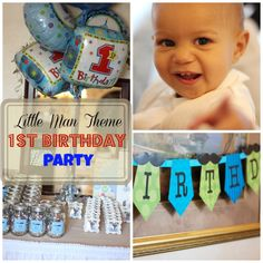 How to Plan an Awesome Little Man Theme Birthday Party - Weather Anchor Mama #birthday #littleman #partyideas #howto #DIY