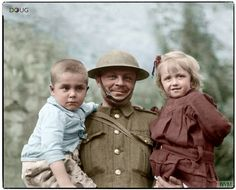 Refugee children being cared for by the British Army, nr.
