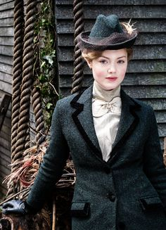 Holliday Grainger in 'Lady Chatterley's Lover' (2015). x