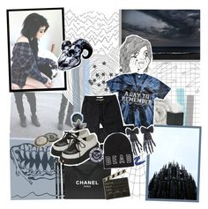 """""""p.k feckin blah in the fayce m8"""" by amberishdead ❤ liked on Polyvore featuring Linea, Royce Leather, Times Two Design, Revlon, Lime Crime, Chanel, Bodyline and Spicher and Company"""