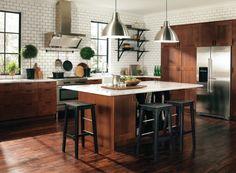 idea, ikea kitchen, cabinet doors, subway tiles, light, dream kitchens, kitchen designs, kitchen cabinets, island
