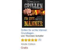 """Gratis-eBook: """"Grillen für echte Männer"""" für kurze Zeit kostenlos zu haben https://www.discountfan.de/artikel/essen_und_trinken/gratis-ebook-grillen-fuer-echte-maenner-fuer-kurze-zeit-kostenlos-zu-haben.php Fünf Sterne in fünf Rezensionen – und jetzt ist es gratis zu haben: Das eBook """"Grillen für echte Männer"""" kann für kurze Zeit zum Nulltarif bezogen werden. Gratis-eBook: """"Grillen für echte Männer"""" für kurze Zeit kostenlos zu haben"""