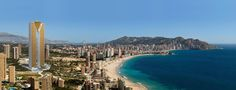 TORRE INTEMPO · The Golden Towers in Benidorm.