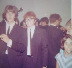 Peter and Gordon. I took this at Marianne Faithfull's wedding