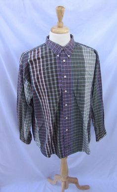 DOCKERS SHIRTS Genuine Long Sleeve Multicolor Checks Collared Shirts For Men