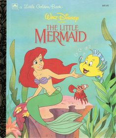 The Little Mermaid Vintage Little Golden by MyLittleBookGarden