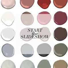 Benjamin Moore Color Trends 2018 Paint Color Palette